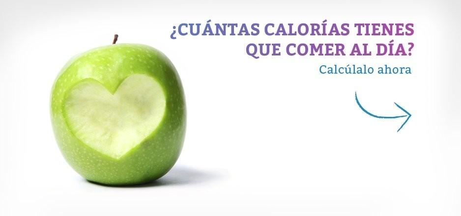 ¿Cuántas calorías tengo que comer al día?